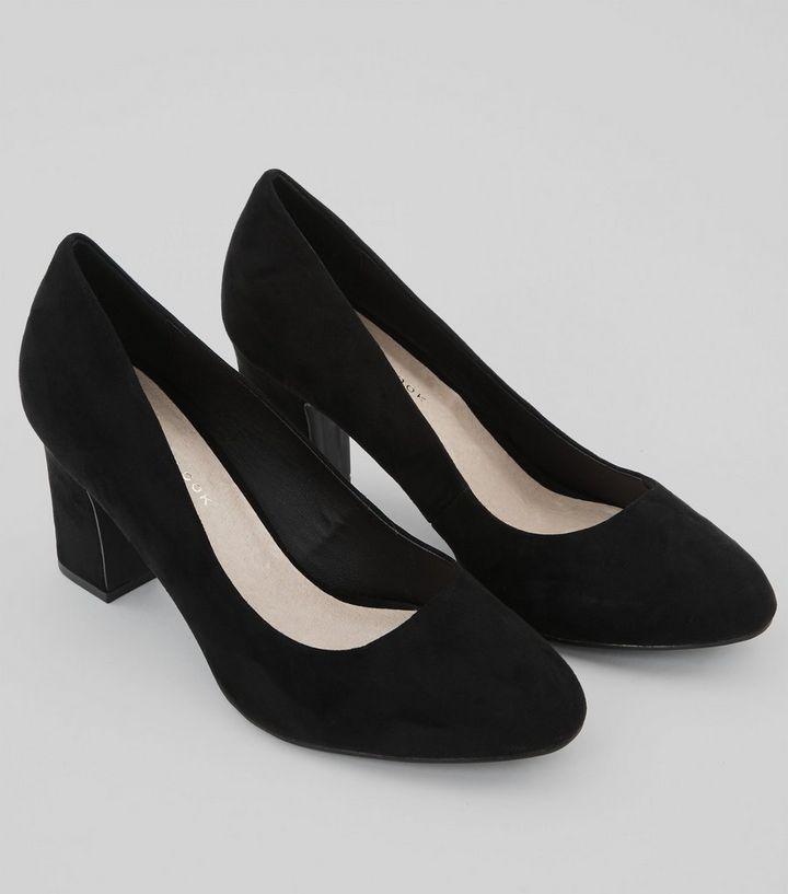 6eccde0389 ... Wide Fit Black Comfort Flex Court Shoes. ×. ×. ×. VIDEO Shop the look