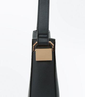 Black Bucket Bag New Look