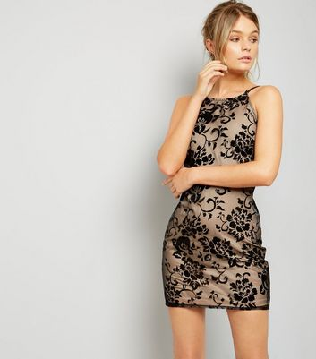 Parisian Black Lace Bodycon Mini Dress New Look