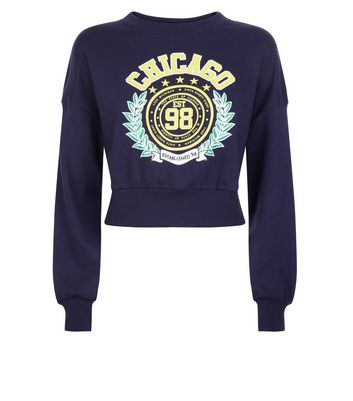 teens-navy-chicago-slogan-sweater