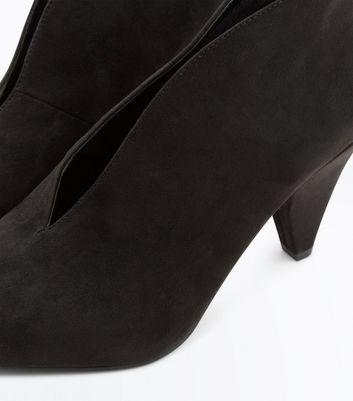 wide-fit-black-suedette-v-front-shoe-boot