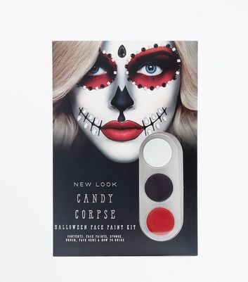 Halloween Candy Corpse Face Paint Kit New Look