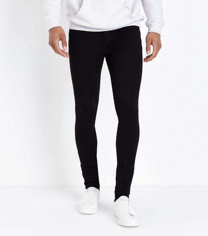 431d536289a41 Black Super Skinny Stretch Jeans