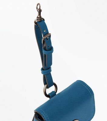 Teal Clip On Micro Bag New Look