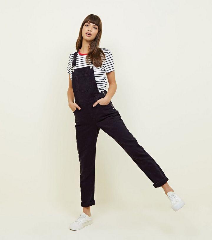 professionnel de la vente à chaud Nouveaux produits vêtements de sport de performance Salopette noire en jean à coupe droite Ajouter à la Wishlist Supprimer de  la Wishlist