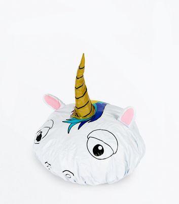 Unicorn Shower Cap New Look