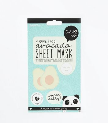 Avocado Sheet Face Mask New Look