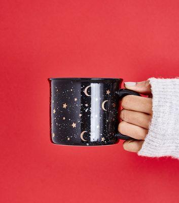 Black Star Moon Mug New Look