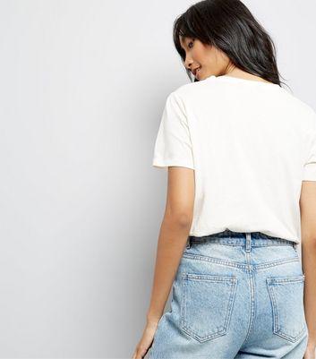 Cream Paris Mon Amie Slogan T-Shirt New Look