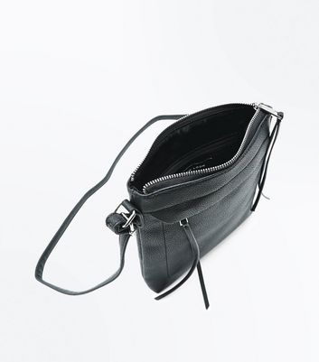 Black Cross Body Bag New Look