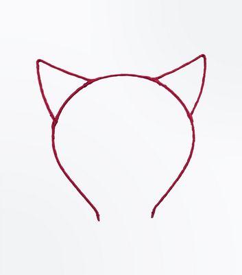 Red Ribbon Devil Ears New Look