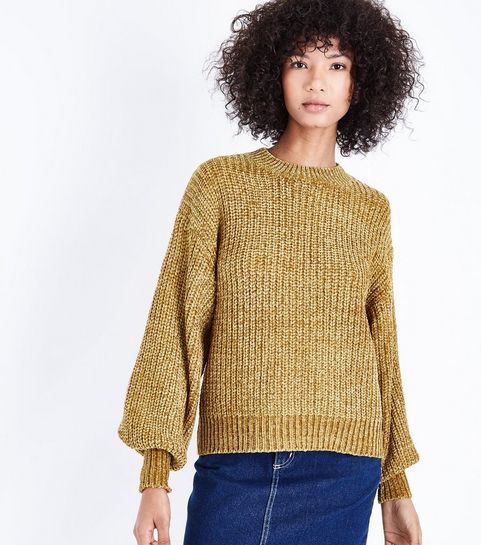 57b2a3bd78d9 Yellow Knitwear | Mustard Jumpers & Cardigans | New Look