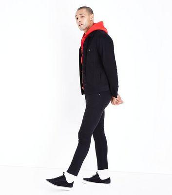 Black Denim Jacket New Look