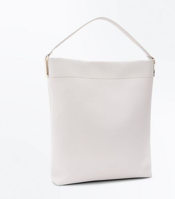 Grey Oversized Tote Bag New Look