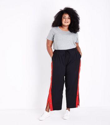 Curves Grey Short Sleeve Oversized T-Shirt New Look
