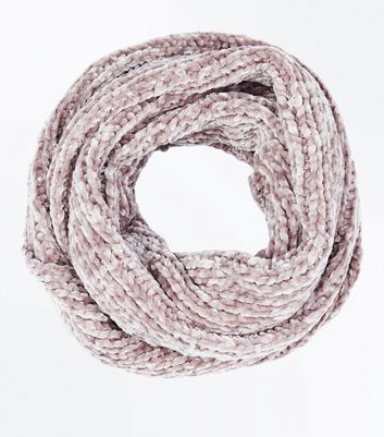Mink Chenille Snood New Look