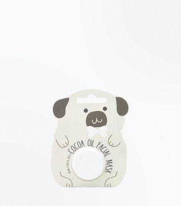 Pug Face Cocoa Oil Face Mask New Look