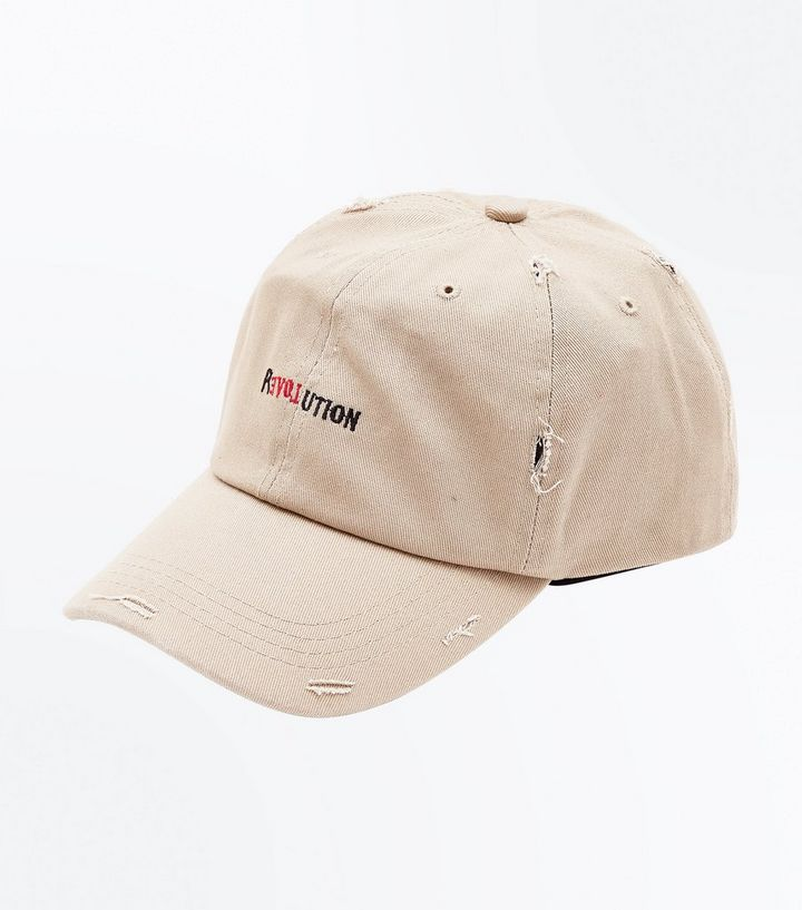 Stone Revolution Embroidered Distressed Cap  61a886d65fc0