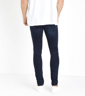 Navy Super Skinny Jeans New Look