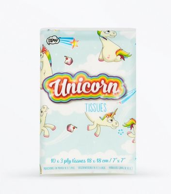 White Unicorn Tissues New Look