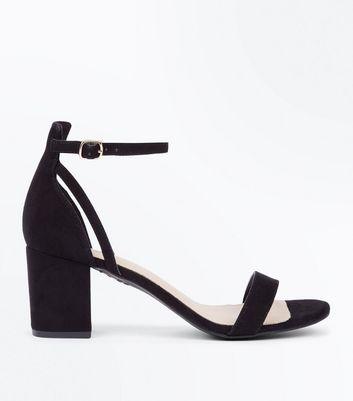 e84715d0176 Open-Toe Low Heel Sandals. women red black ...