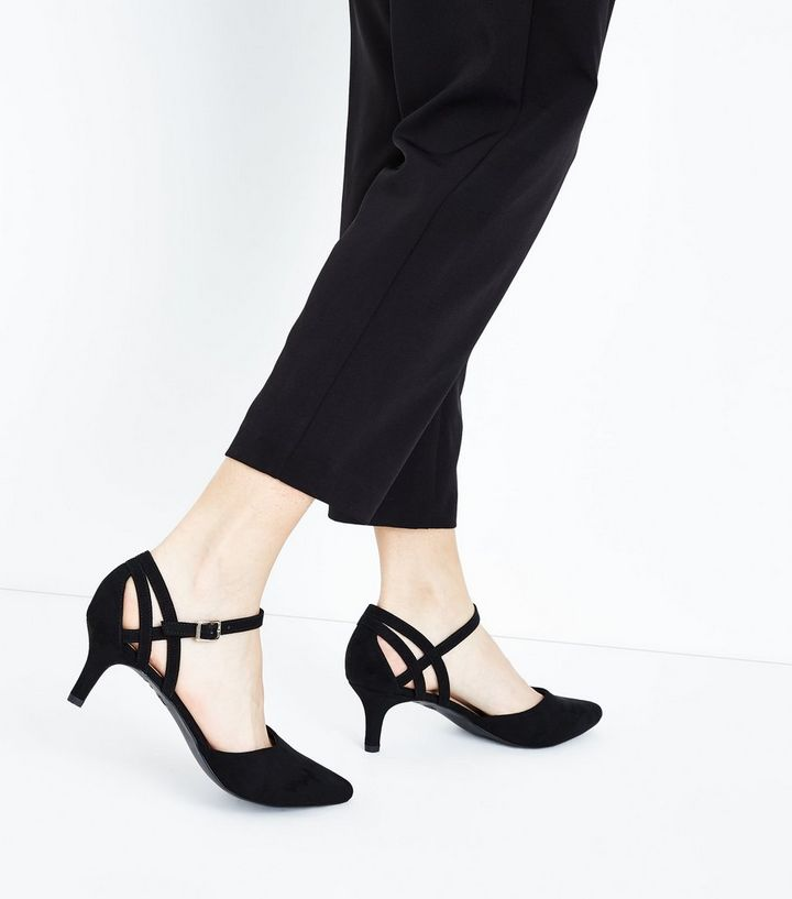 551e75ae3 ... Shoes · Wide Fit Black Comfort Flex Suedette Pointed Kitten Heels. ×.  ×. ×. Shop the look