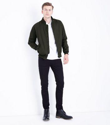 Khaki Harrington Jacket New Look