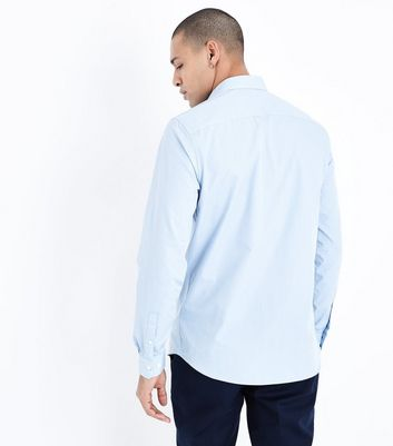 Pale Blue Long Sleeve Shirt New Look