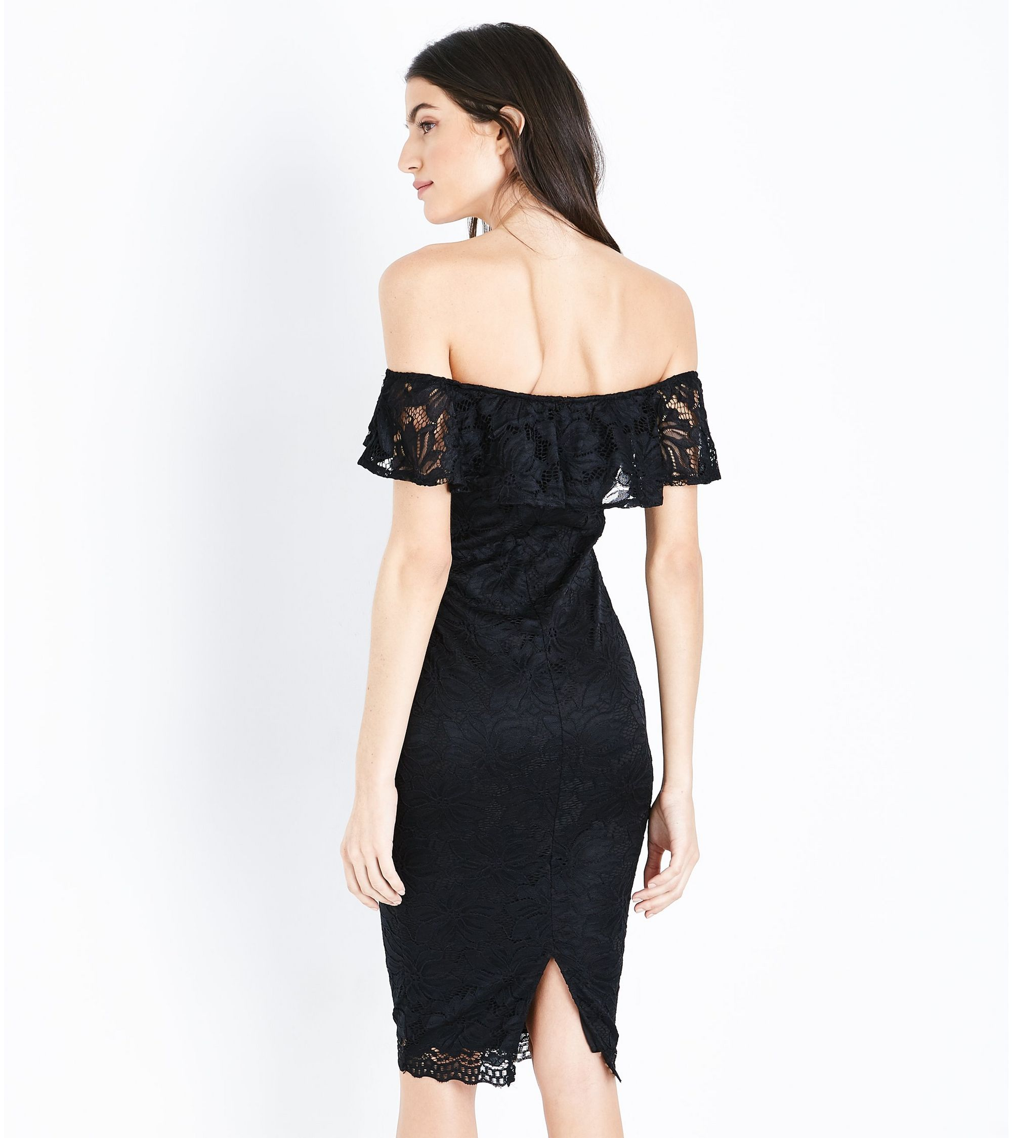 534106915f77 New Look Ax Paris Black Lace Dress - raveitsafe