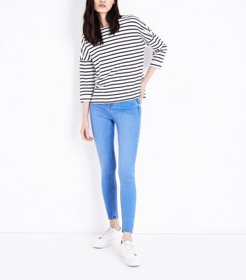 Bright Blue Super Soft Super Skinny India Jeans