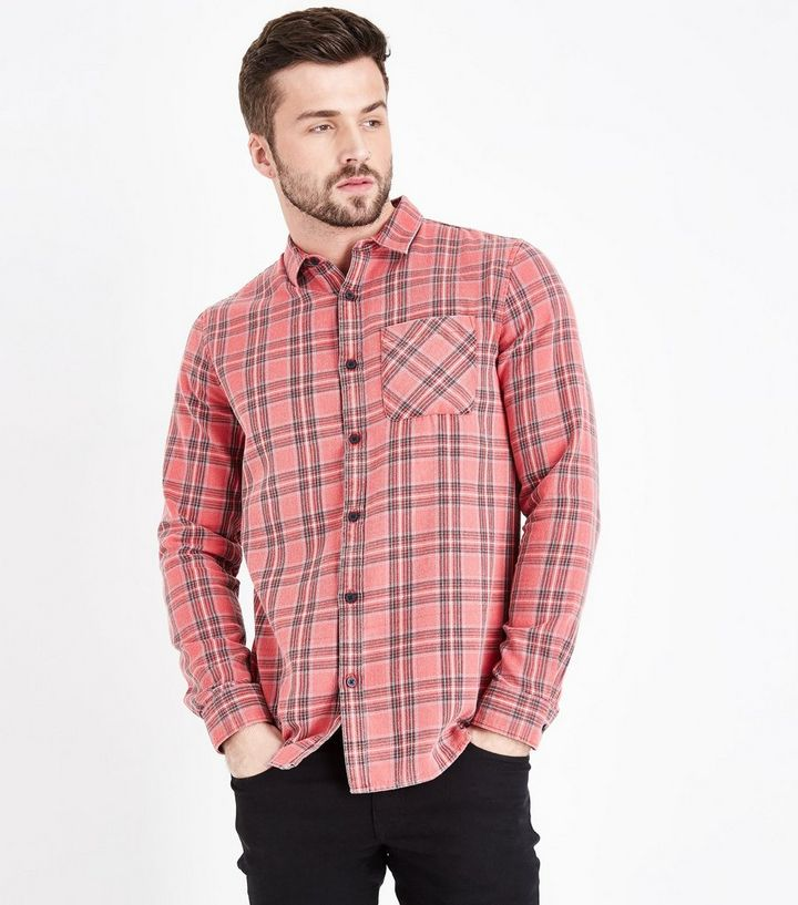 search for best 2019 best release info on Red Check Long Sleeve Shirt Add to Saved Items Remove from Saved Items