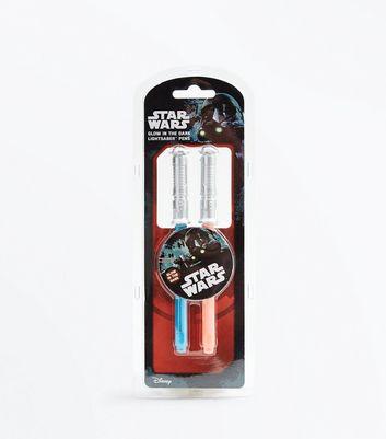 Star Wars Glow In The Dark Pen Set New Look