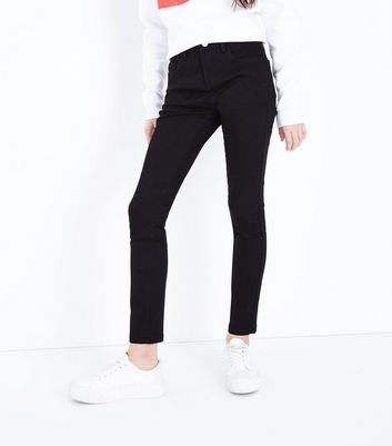 Teens Black Super Skinny Jeans New Look