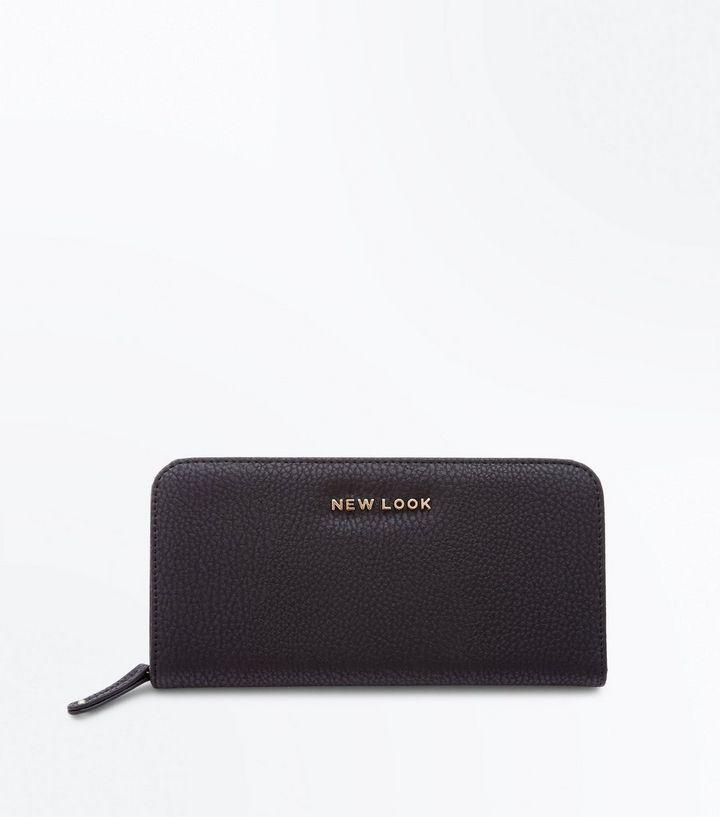 économiser d6075 b36bd Porte-monnaie noir à marque New Look Ajouter à la Wishlist Supprimer de la  Wishlist