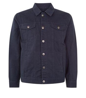 Navy Denim Jacket New Look