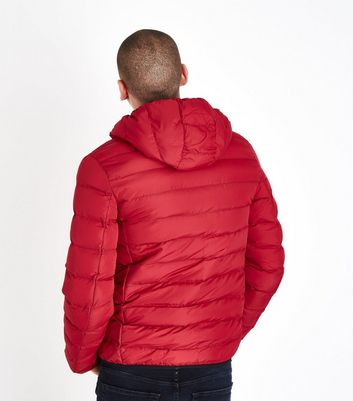 Red Puffer Jacket New Look
