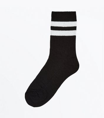 Black Stripe Sports Socks