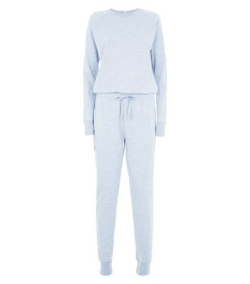 Grey Jersey Crew Neck Jumpsuit New Look