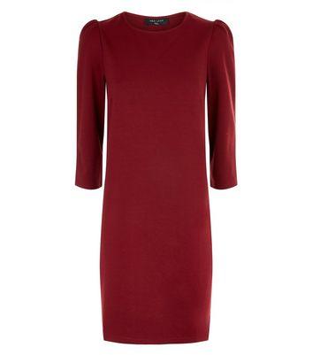 Tall Plum 3/4 Sleeve Tunic Dress New Look