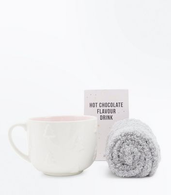 Hot Chocolate And Socks Sets New Look