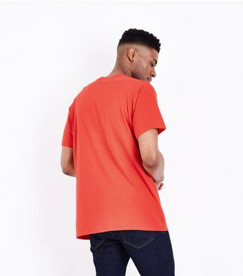 Red Crew Neck T-Shirt New Look