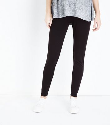 Maternity Black Over Bump Leggings New Look