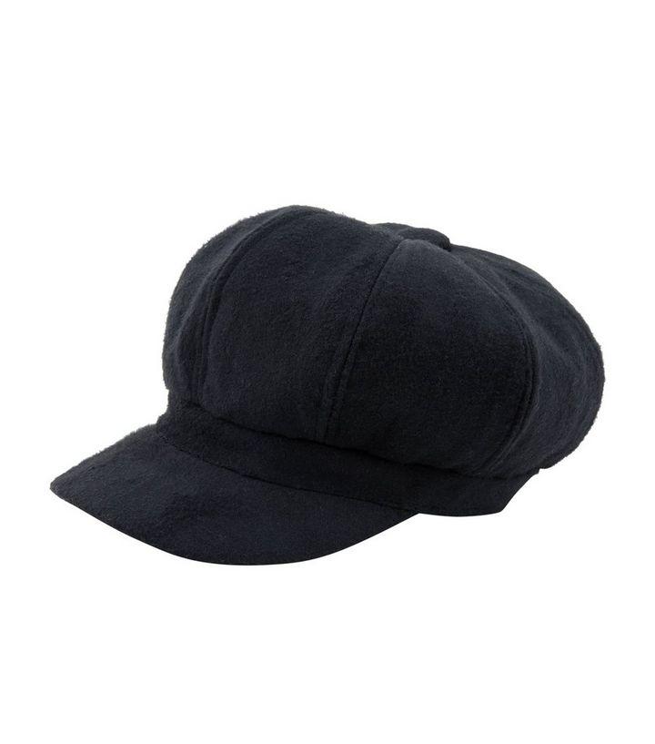 Black Baker Boy Hat  012cd5f56a2