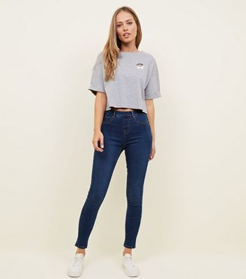 Tall Blue Rinse Wash Super Soft Emilee Jeggings