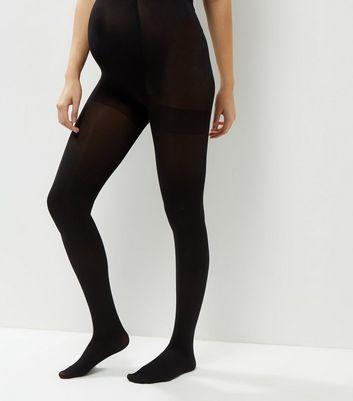 Maternity 2 Pack Black 100 Denier Tights
