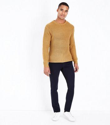 Mustard Knit Jumper New Look