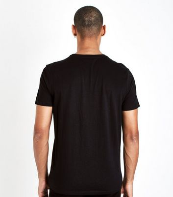 Black Lower East Side Print T-Shirt New Look