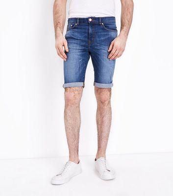 Look Skinny Homme Jean Short Look Homme IDYE2HeW9