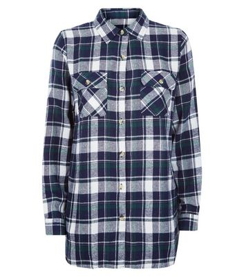 Apricot Green Check Shirt New Look