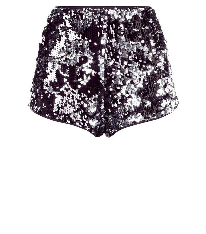 d9a615c3aeef4d Parisian - Short noir taille haute à paillettes Ajouter à la Wishlist  Supprimer de la Wishlist